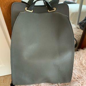 Final Sale!! Zara Women gray backpack